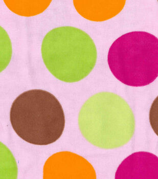 Snuggle Flannel Fabric-Baby Dot