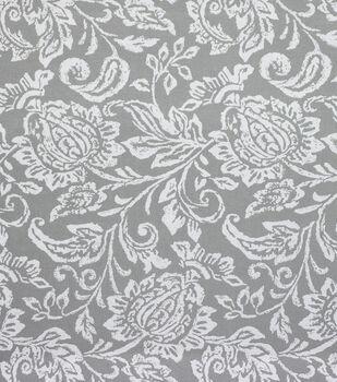 Solarium Outdoor Fabric-Giordano Gray