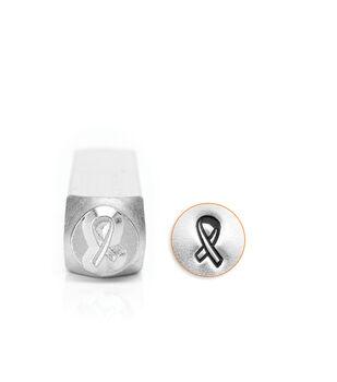 ImpressArt's Breast Cancer Ribbon Outline, 6mm
