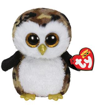 TY Beanie Boo Owliver Camouflage Owl