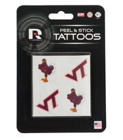 Virginia Tech NCAA Peel & Stick Tattoos, , hi-res