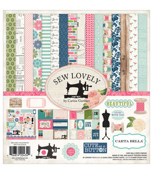 "Sew Lovely Collection Kit 12""X12""-"