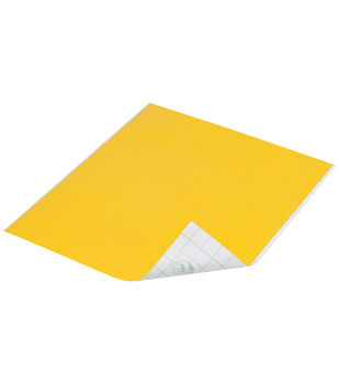"Duck Tape Single Sheets 8.25""X10""-Yellow"