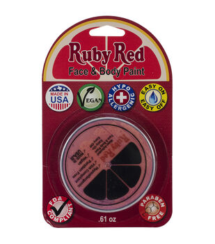 Ruby Red Face Paint .61oz-Pink