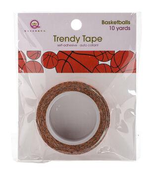 Queen & Co Basketballs Trendy Tape