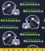 Seattle Seahawks NFL Cotton Fabric by Fabric Traditions, , hi-res