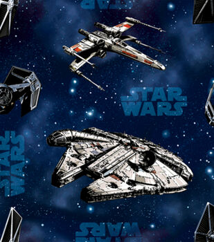 Star Wars Ships Cotton Fabric