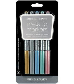 Metallic Markers Medium Point