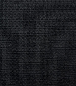 Cosplay by Yaya Han Basketweave Black Fabric
