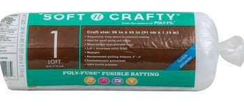 """Fairfield Soft N Crafty Poly-Fuse Batting 36""""x45"""""""