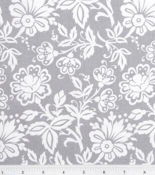 Keepsake Calico™ Cotton Fabric-Kimberly Small Floral Gray
