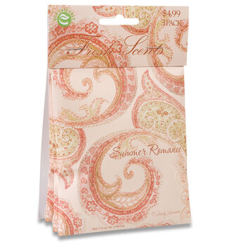 Hudson 43™ Candle&Light Collection 3 Pack Scented Sachet Summer Romance