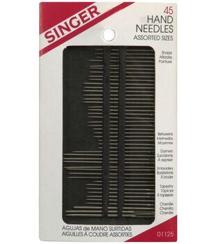 Singer® Hand Needles 45/Pkg. Assorted