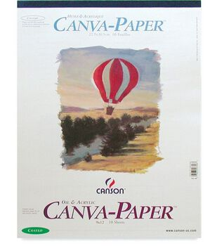 "Canson Canva-Paper Pad 9""X12"""