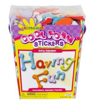 Creative Hands Sticker Bucket ABC Dotty