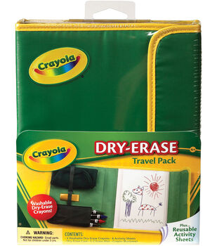 Crayola Dry-Erase Travel Pack