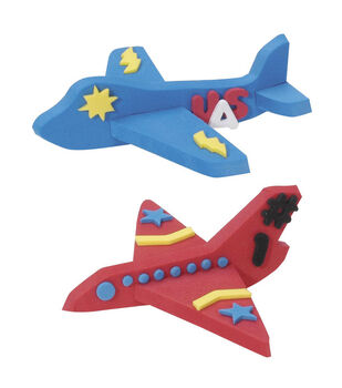 Darice® Foamies Tub O'Foamies 3-D Shapes-Airplanes