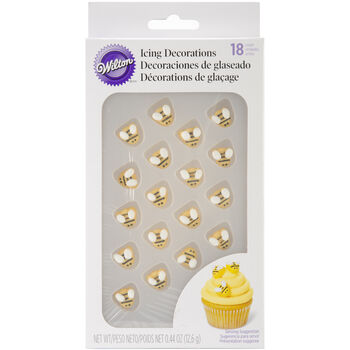 Icing Decorations 18/Pkg-Bumble Bee
