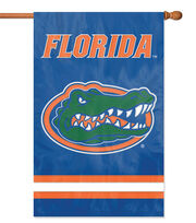 Univeristy of Florida NCAA Applique Banner Flag, , hi-res