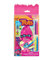 Dreamworks Trolls Poppy Sketch Set, , hi-res