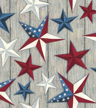 Susan Winget Holiday Inspirations Patriotic Fabric- Texas Stars