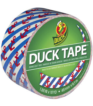 Duck Hanker For An Anchor Patterned Tape