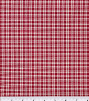 Keepsake Calico™ Cotton Fabric-Plaid Burgundy, , hi-res