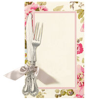 Anna Griffin Knife & Fork Custom Invitation, , hi-res