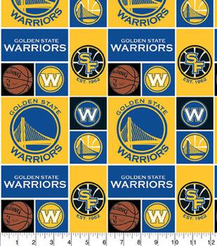 Golden State Warriors NBA Cotton Fabric
