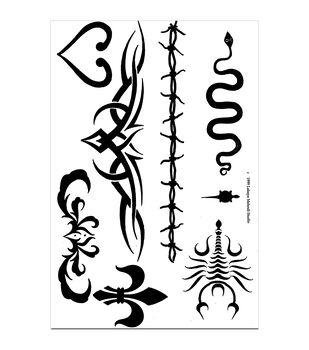 Earth Henna Tribal - Stencil Transfer Pk