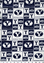 Brigham Young University NCAA  Cotton Fabric, , hi-res