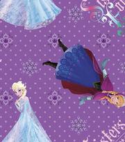 Disney Frozen Sisters Cotton Fabric, , hi-res