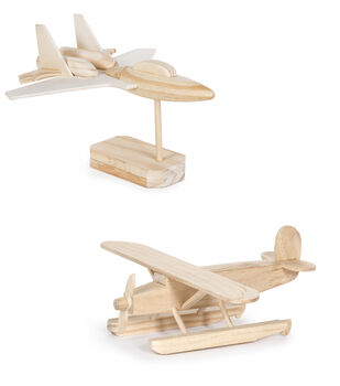Wood Kit-Jet Bomber/Pontoon Plane