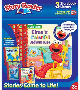 Story Reader 2.0 Sesame Street 3bk Box