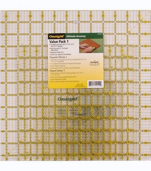 Omnigrid Ruler Value Pack 1-4 Per Package