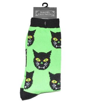 Maker's Halloween Socks-Vampire Cat Crew