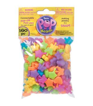 Pop Beads 160/Pkg-Novelty