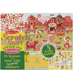 Melissa & Doug Scratch & Sniff Sticker Pad-Fruitville