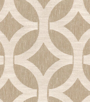 Home Decor 8''x 8'' Swatch Fabric-Waverly Ludlow Lattice Stone