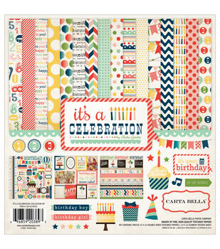Carta Bella It's A Celebration Collection Kit