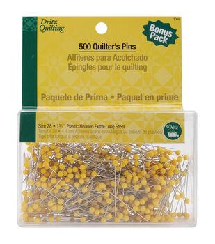 Dritz Quilting Quilters Pins 500pcs
