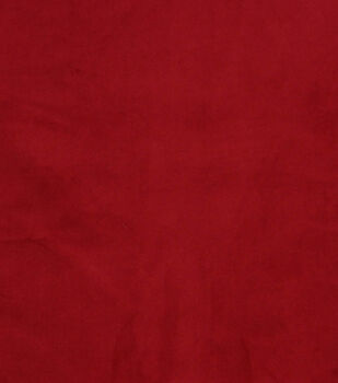 Hudson 43 Upholstery Velvet Fabric-Red