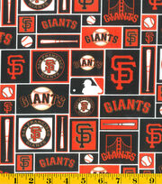 San Francisco Giants MLB Patch Cotton Fabric, , hi-res