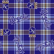 Kansas City Royals MLB Fleece Fabric, , hi-res