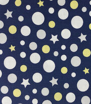 Magic Moon™-Leo & Phin Dots & Stars Cotton  , , hi-res