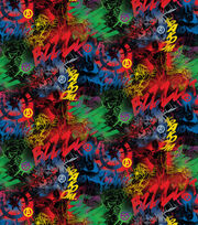 Marvel's The Avengers Graffiti Cotton Fabric, , hi-res