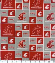 Washington State University NCAA  Cotton Fabric, , hi-res