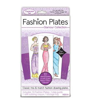 Kahootz Fashion Plates Expansion Set-Glamour