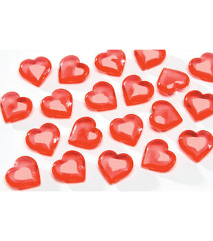 7 oz Red Hearts Diamond Gems