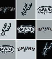 San Antonio Spurs NBA  Fleece Fabric, , hi-res
